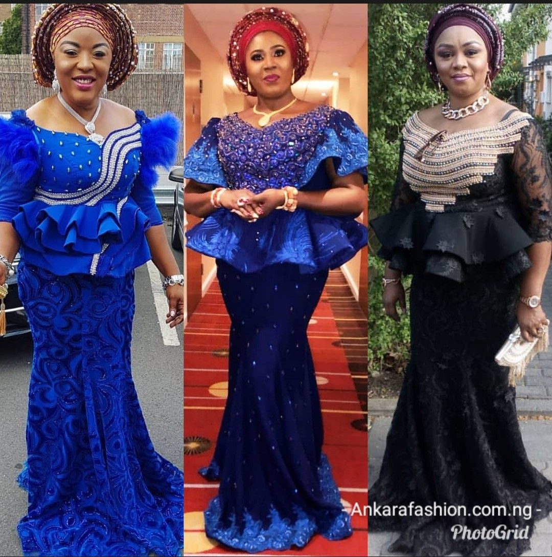 latest african lace skirt and blouse styles online