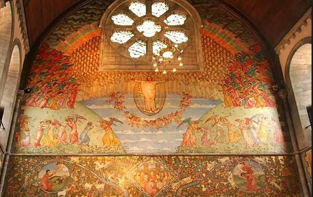 Seek out Phoebe Traquair's exquisite murals @mansfieldtraquair #thisisedinburgh24