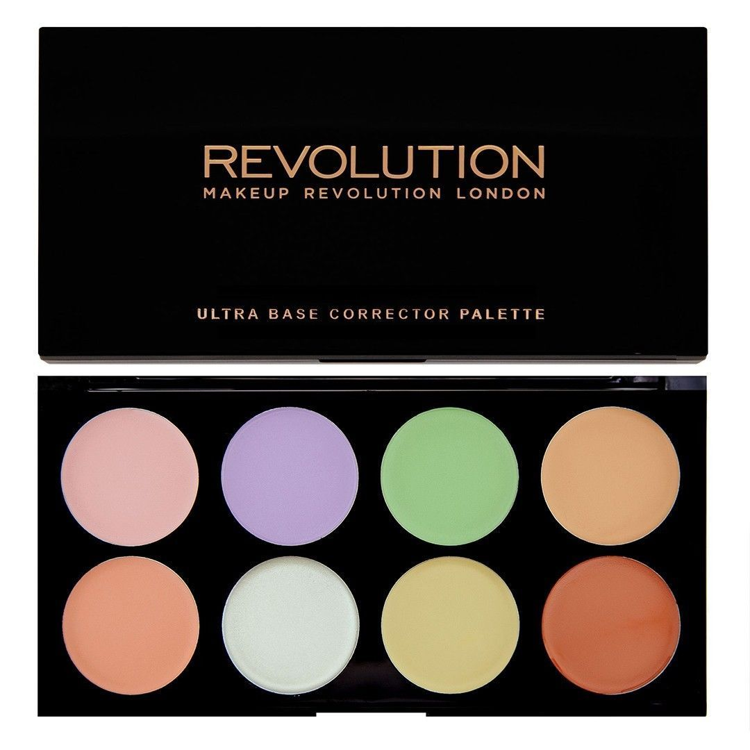 Colour Corrector Make Up Palette Makeup Revolution Cream Face Base Corrective Ebay Fashion