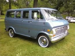 69 Ford Van Ours Will Be This Clean Someday With Images Ford