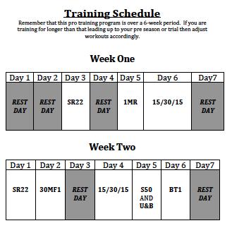 training programs for soccer pre season  http