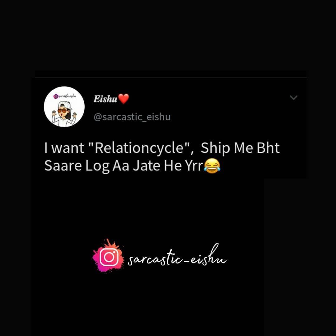 "𝙀𝙄𝙎𝙃𝙐❤️ on Instagram: ""🔻 🔻 🔻 #sarcasm  #meme  #memes  #funnymemes  #creazy  #hilarious  #savage  #socialmedia  #instadaily  #sarcasm7  #memesdaily  #likeindia…"""