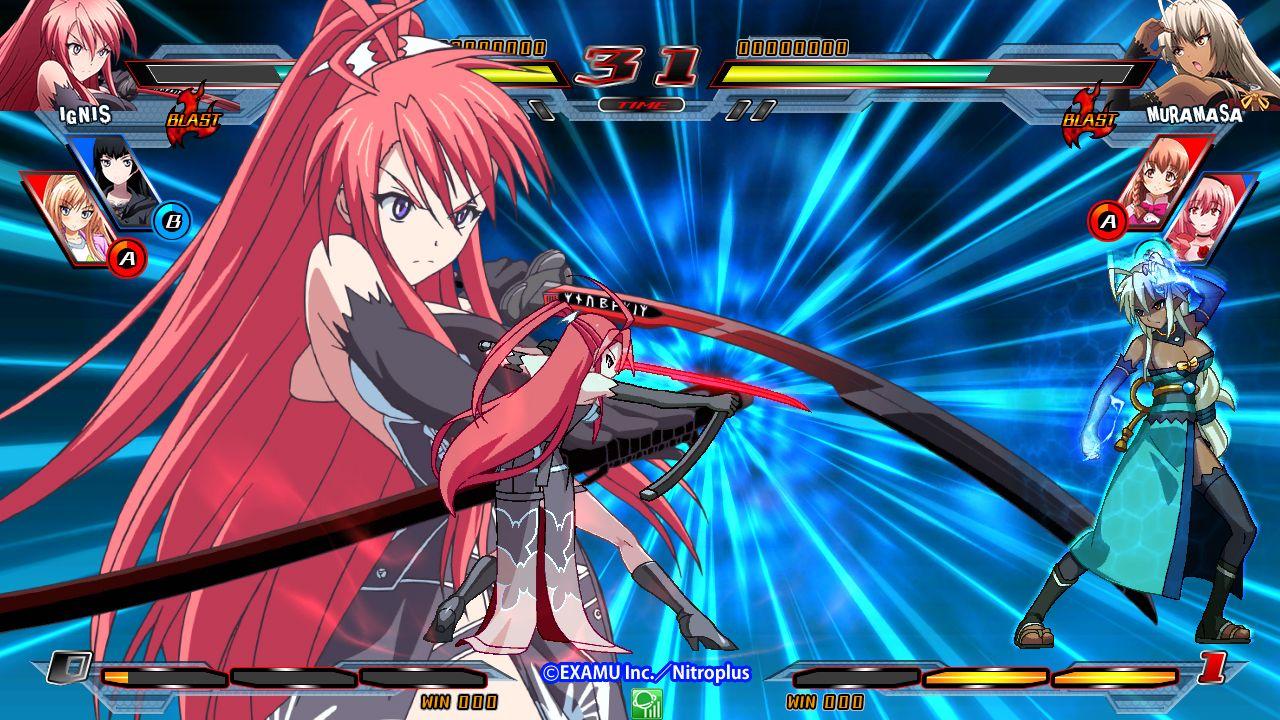 Nitro+ Blasterz Heroines Infinite Duel (PS4) Anime