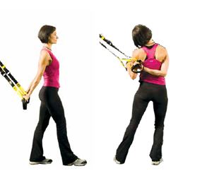 trx standing neck stretch stand sideways stretches and