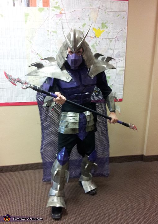 coolest diy tmnt shredder costume