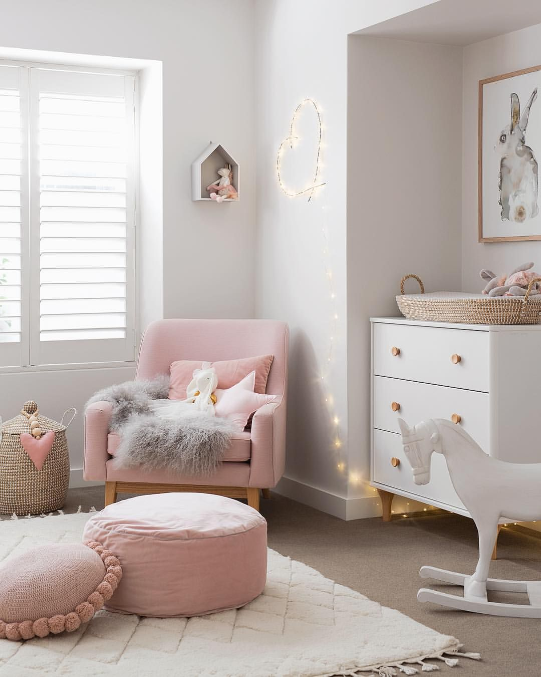 Mia Baby Bedroom Furniture: Mia's Nursery Is Now On The Blog With Lots Of Pink Inspo