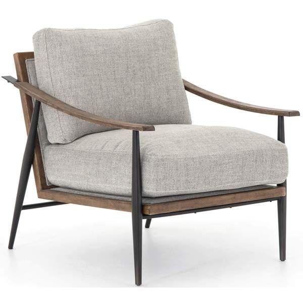 Photo of Kennedy Chair, Gabardine Grey