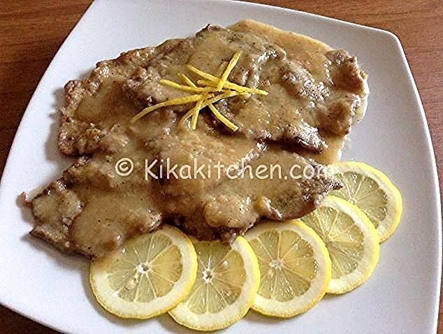 Photo of Escalopes with lemon, easy and quick to prepare Kikakitc …