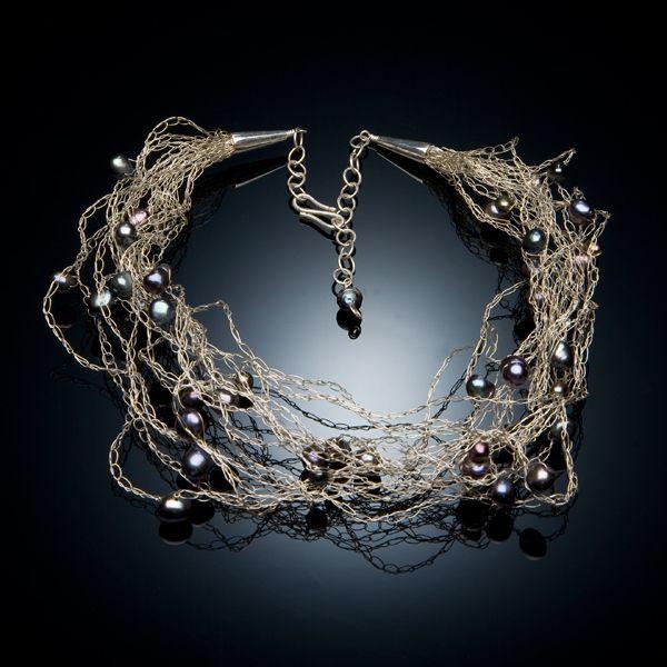 How To Crochet Wire Jewelry   pointykitty.net - Portfolio ...