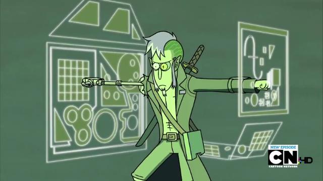 Techmo Regular Show Cartoon Illustration Spirit Animal