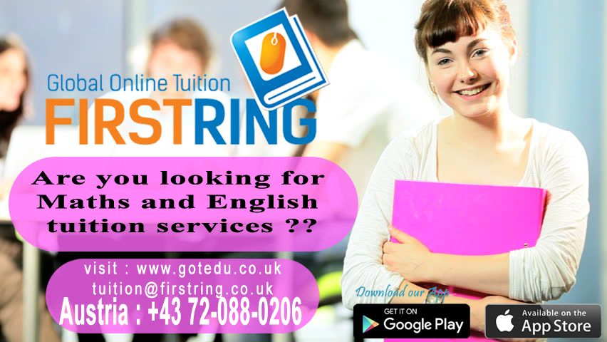 are you looking for maths and english tuition service????     visit us : http://www.gotedu.co.uk/  Student Reg : http://www.gotedu.co.uk/StudentRegistration.aspx?From=Basic   19-04-2016(100)