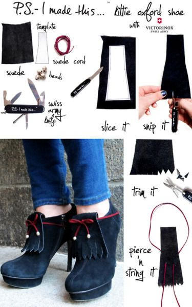 Kittie Oxford Shoes