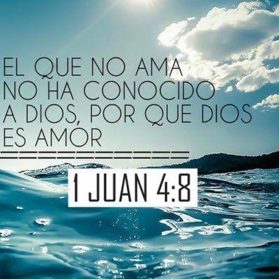 Citas Biblicas De Amor De Dios Dios Dios Dios Es Amor Y