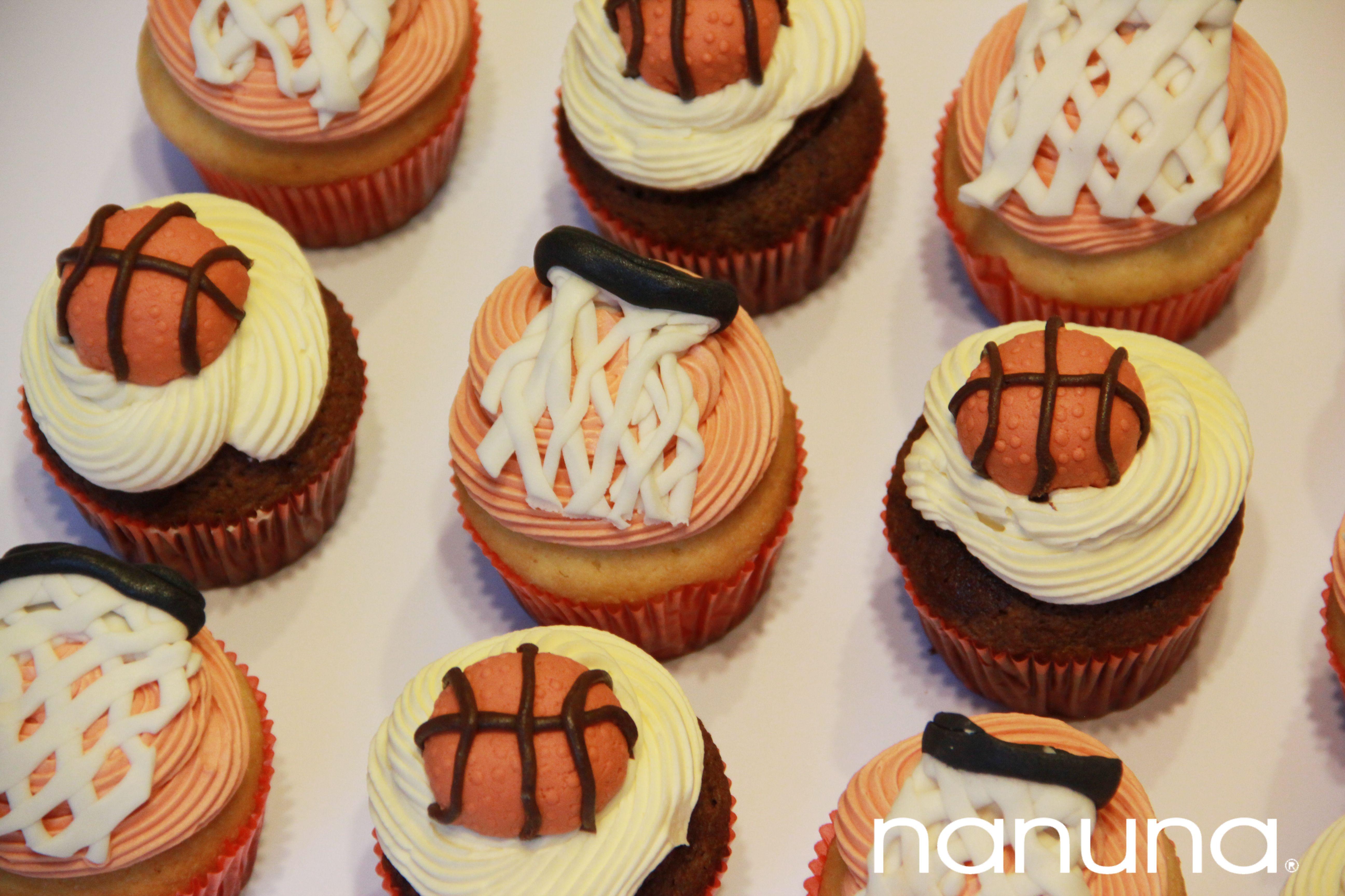 Cupcakes basquet Cupcakes Tortas Argentina Nanuna Conocenos