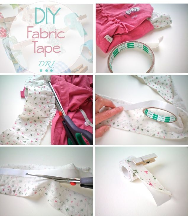 Reciclar trozos de tela | Aprender manualidades es facilisimo.com #fabrictape