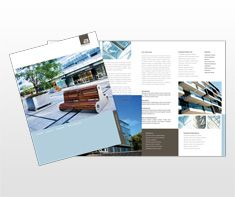 Architect And Design Firm Brochure Template Sustainability 2016