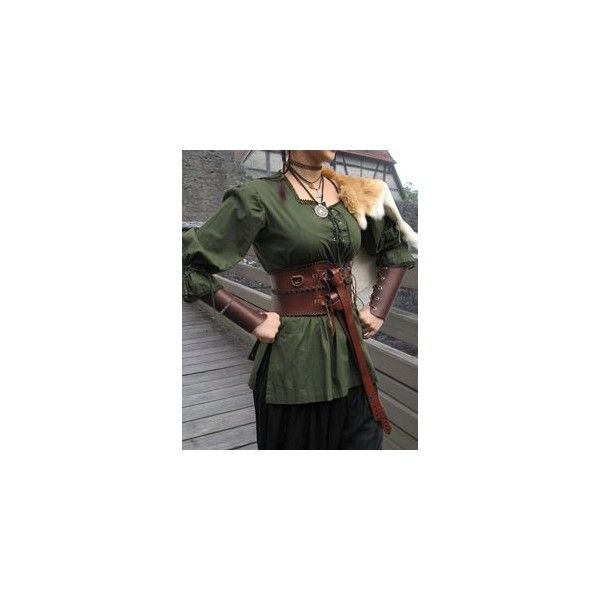 Medieval Blouse Fhaya ❤ liked on Polyvore featuring tops and blouses