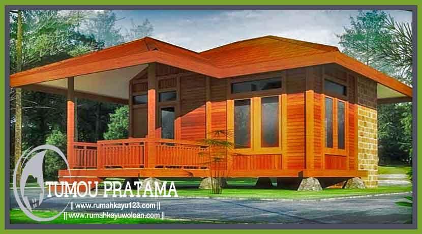 Model Rumah Kayu Panggung