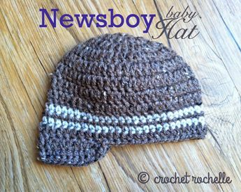 Photo of Hey Rockers!   I recently made a few Newsboy Hats for my cousin's new baby boy…
