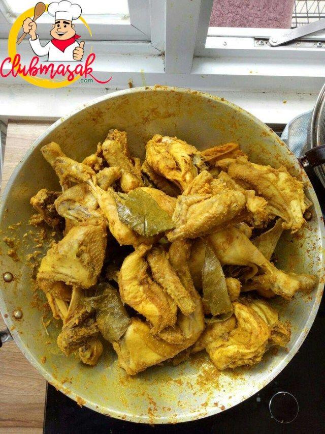 Resep Bumbu Ungkep Ayam Dan Cara Membuatnya Club Masak Masakan Indonesia Masakan Resep