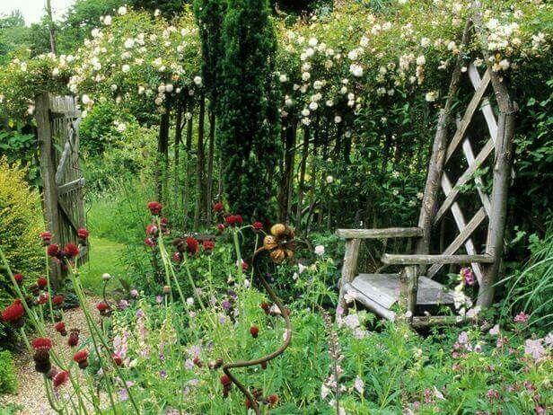 Pin de maru pastur goicoa en rincones pinterest paz - Jardines rusticos decoracion ...