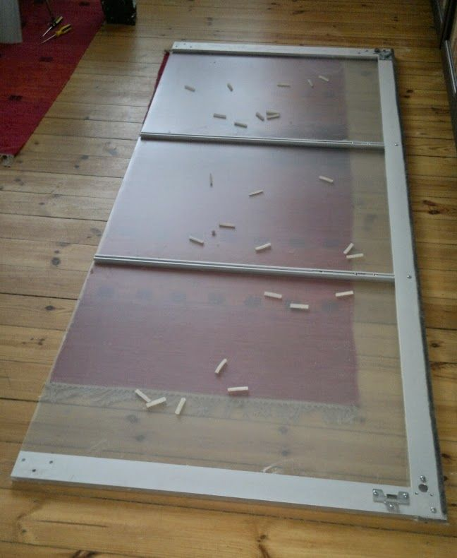 Replace ikea perspex with glass