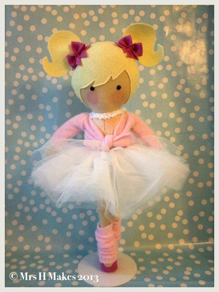 Image of Custom made Large Doll ~ BALLERINA | Mrs. H | Pinterest ...