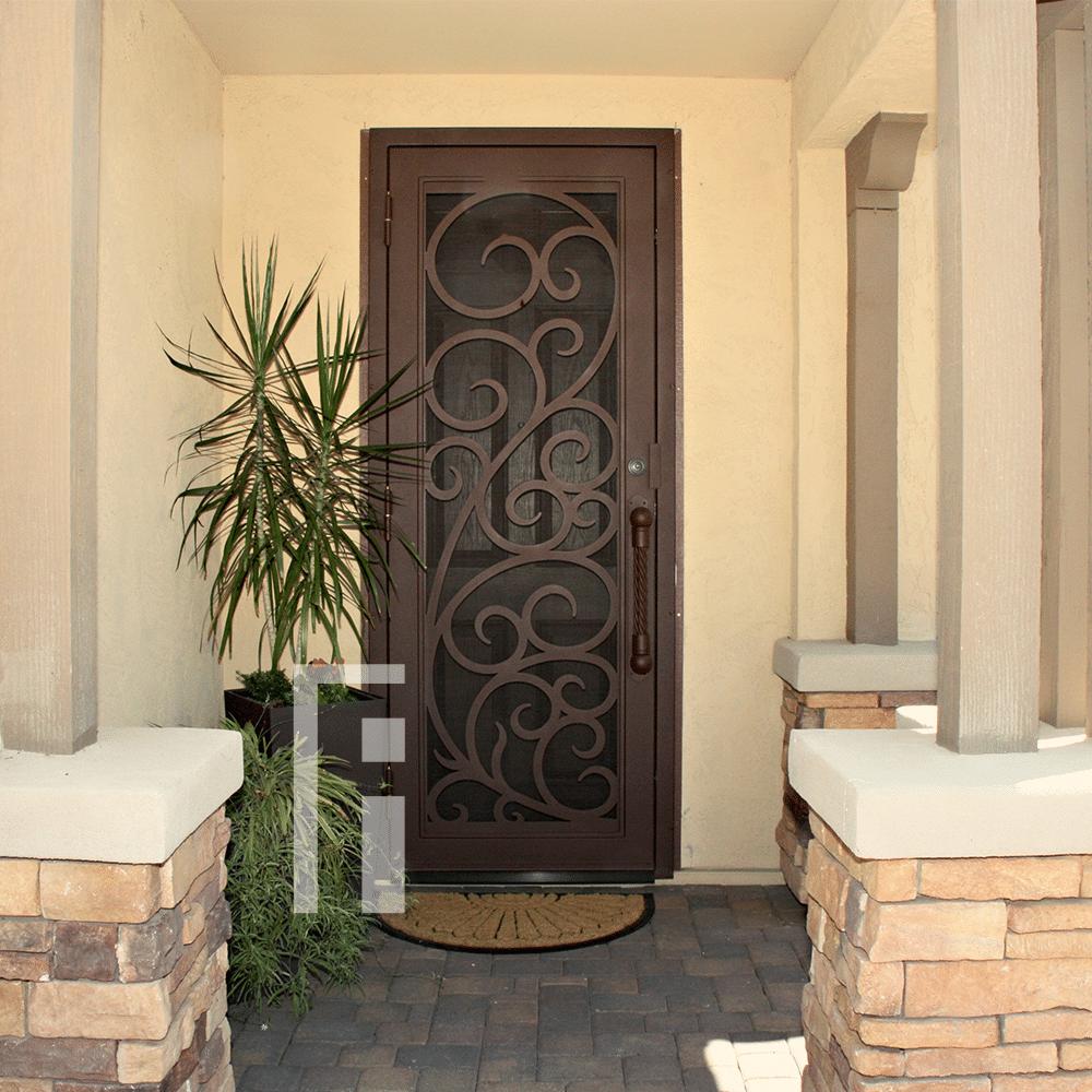 Best Seller Florentine Iron Security Door Security Door Front Door With Screen Doors