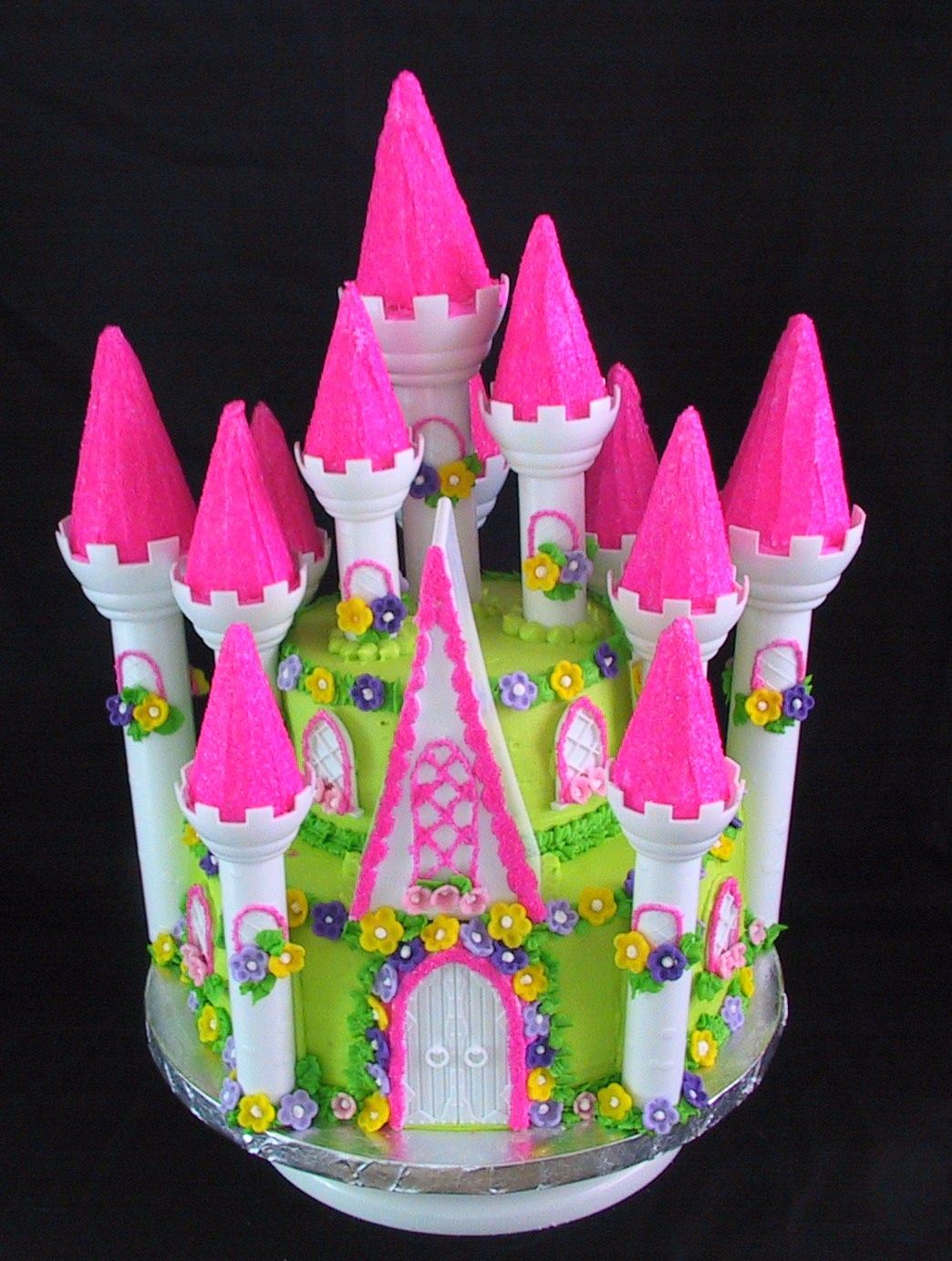 Princess Castle Birthday Cake Princess birthday Birthday party