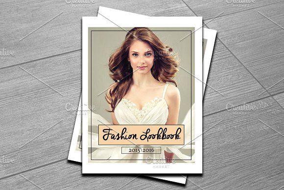 Fashion Magazine Template-V433 Template, Photography brochure and - fashion design brochure template