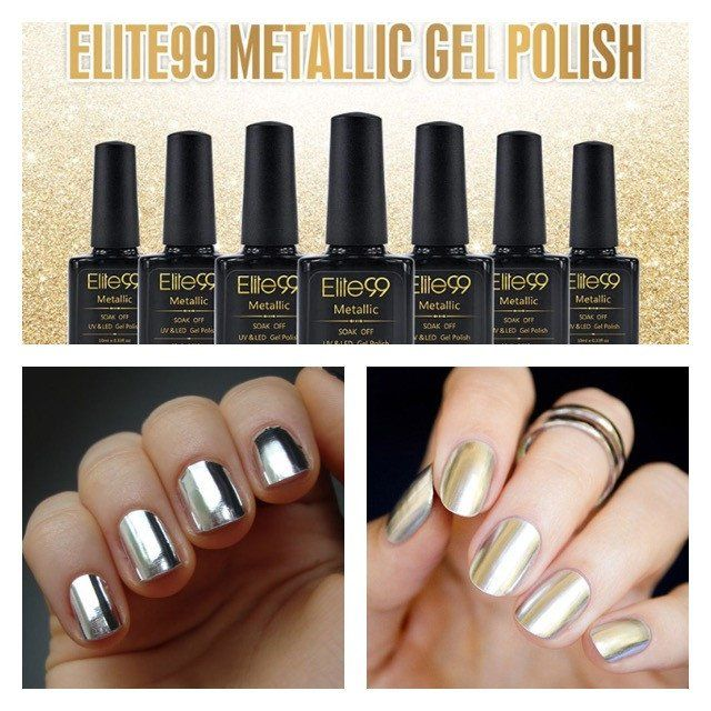Metallic Nail Polish Are you in love with metallic? We got your back ...
