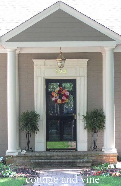 cottage and vine The Portico & cottage and vine: The Portico   Entries   Pinterest   Front doors ...