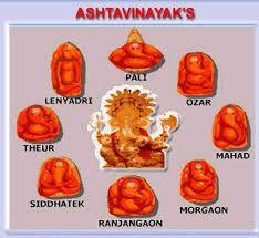 Ashta Vinayak- the 8 Ganesh temples. | Ganesh temple, Durga ...