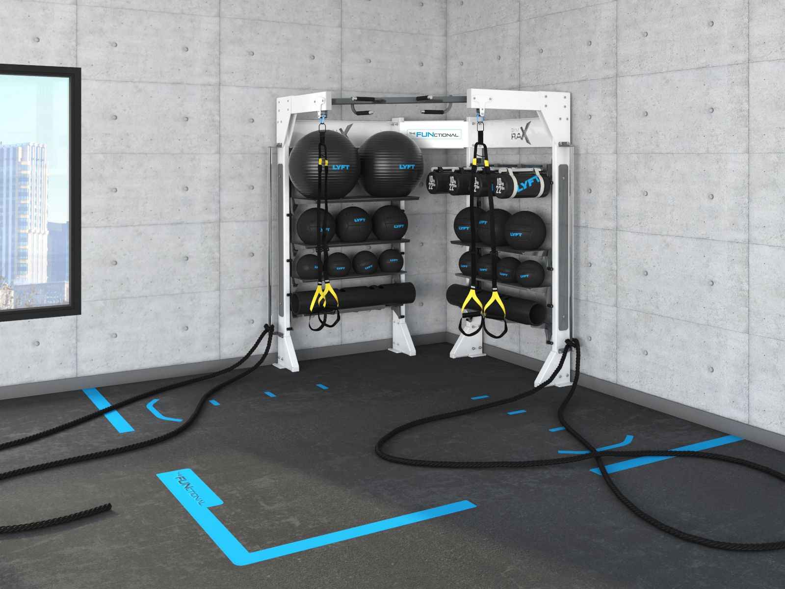 See Conceptual Gym Rax Configurations And Our Featured Systems In