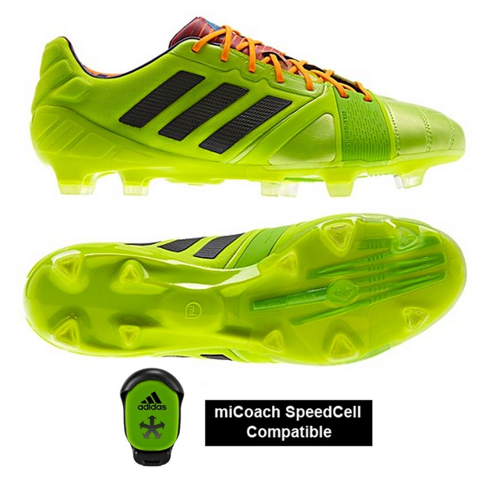 outlet store a0c02 ada45 Adidas Nitrocharge 1.0 TRX FG - 8.5 oz and MiCoach compatible! An  innovative protection mesh on the Nitrocharge s upper protects foot and  cleat during ...