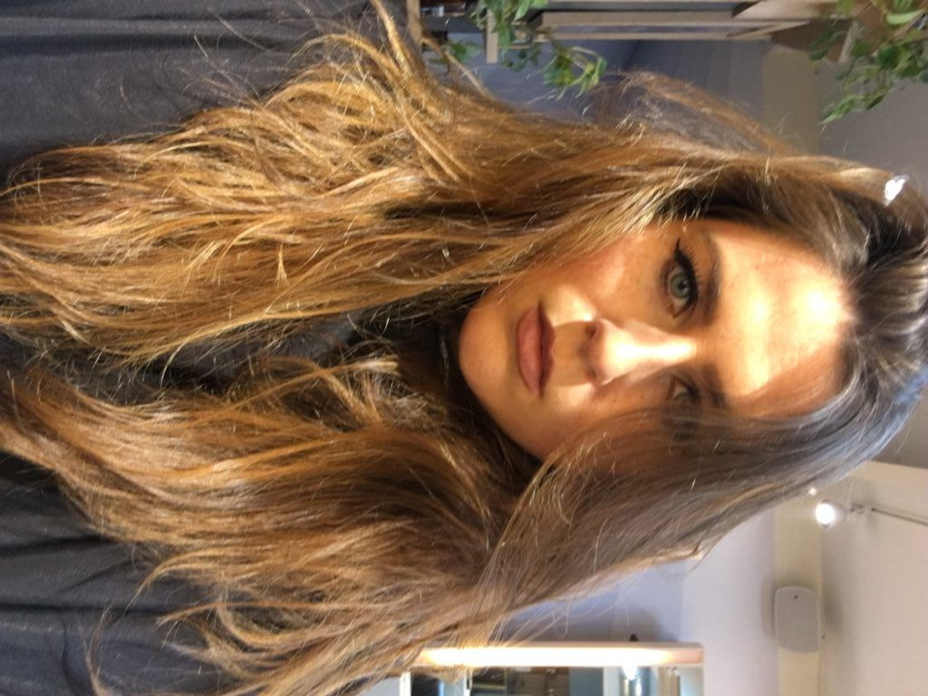 Hairstyle Trend 2016, 2017, 2018: B/A Photos Balayage Hair Color Treatment at The Establishment Los Angeles Aveda Salon - BeautyStat.com