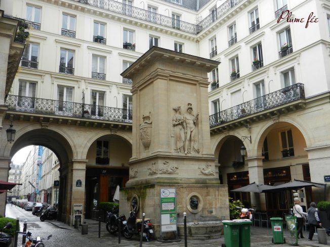 Paris 7e - 129 rue Saint-Dominique : la Fontaine de Mars et Hygie ou ...