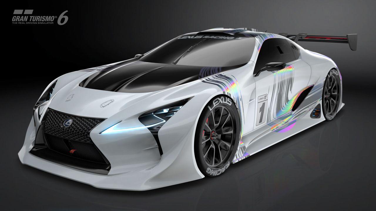 Lexus Lf Lc Gt Vision Gran Turismo Virtually Ready 25 Pics Carscoops Concept Cars Futuristic Cars Lexus Cars