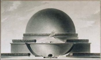 Boullée - Cenatofio de Newton