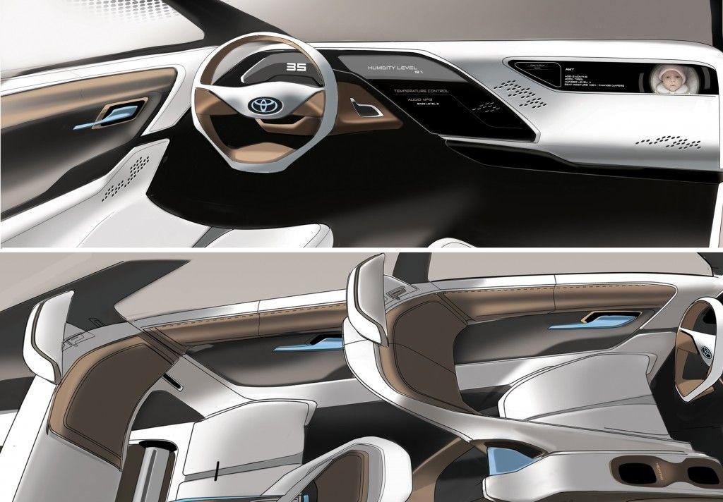 toyota concept car design pinterest car interiors toyota and interiors. Black Bedroom Furniture Sets. Home Design Ideas