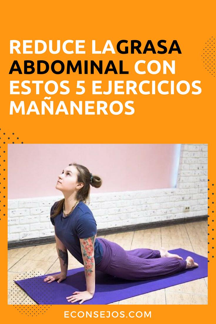 ejercicios para perder adelgazar el abdomen