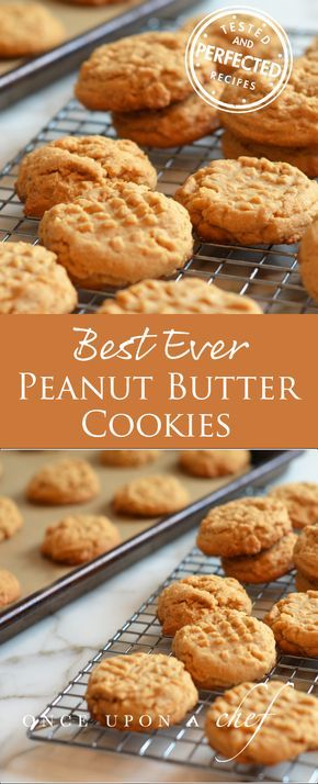 Chunky Peanut Butter Cookies - Once Upon a Chef