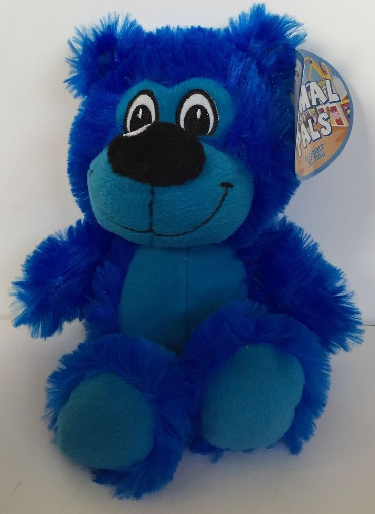 Blue Teddy Bear Stuffed Animal Pals Plush Toy Kellytoy Small Kuddle Me Toys | eBay