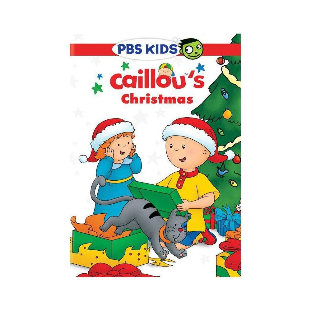Caillou Weihnachten.Caillou Caillou S Christmas Dvd Products In 2019