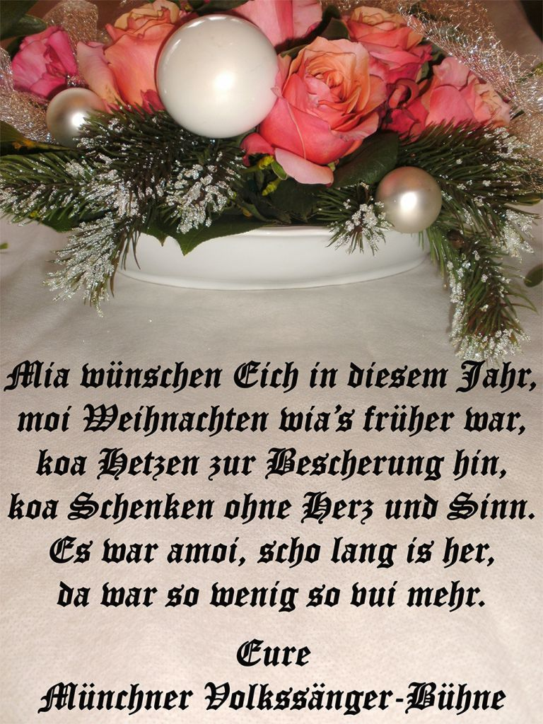 Weihnachtsgedichte Mundart.Bayerische Weihnachtssprüche Schöne Weihnachtsgedichte Und