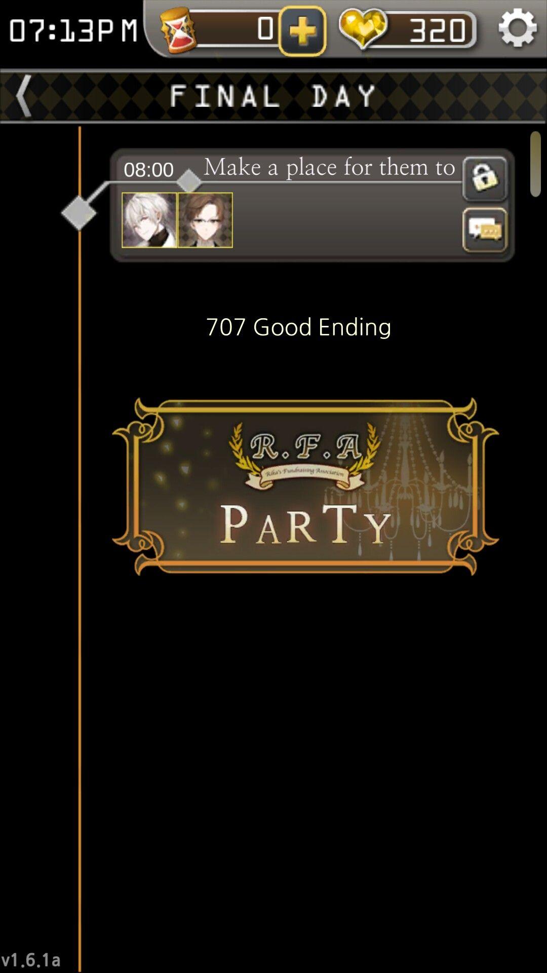 707 good ending