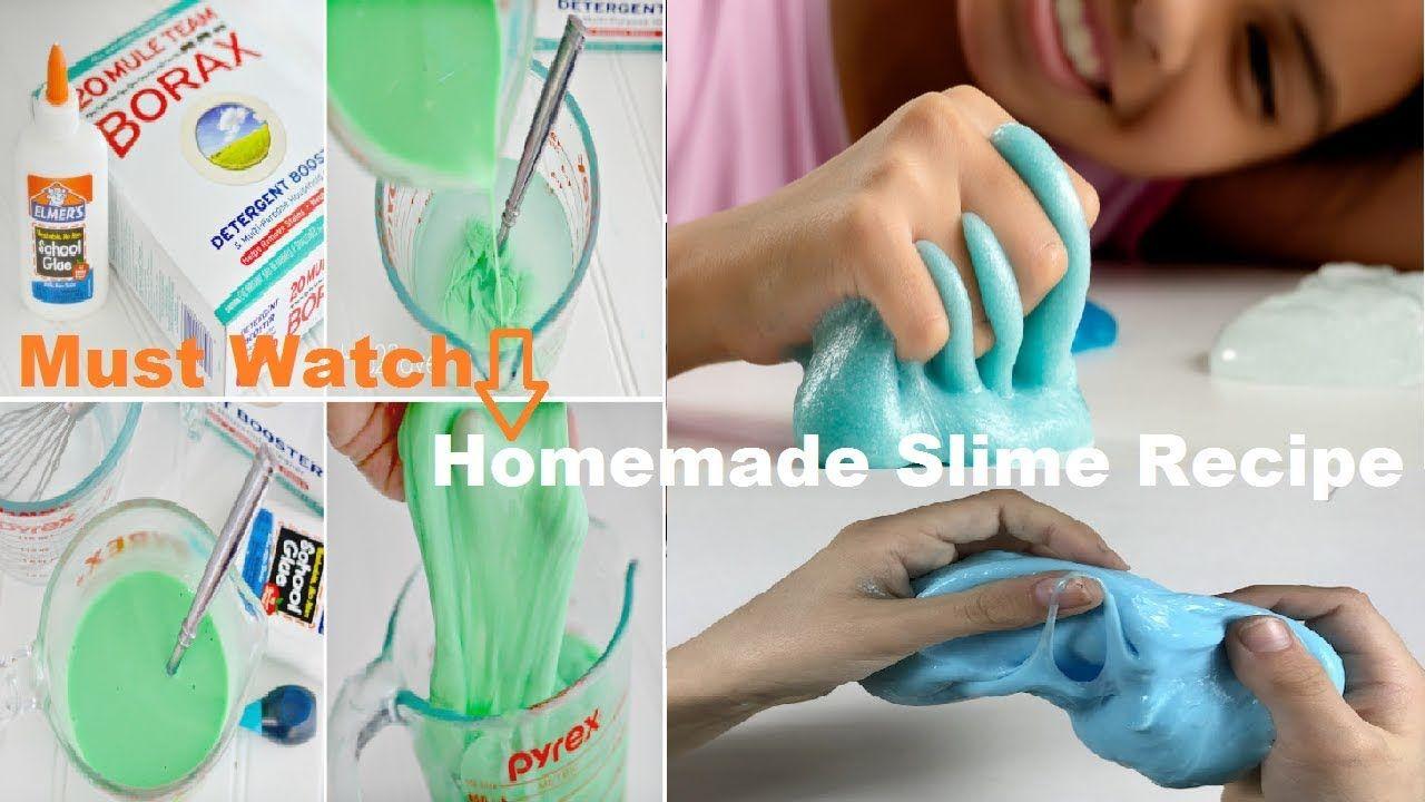 Homemade slime review u recipe ideas best kid friendly slime