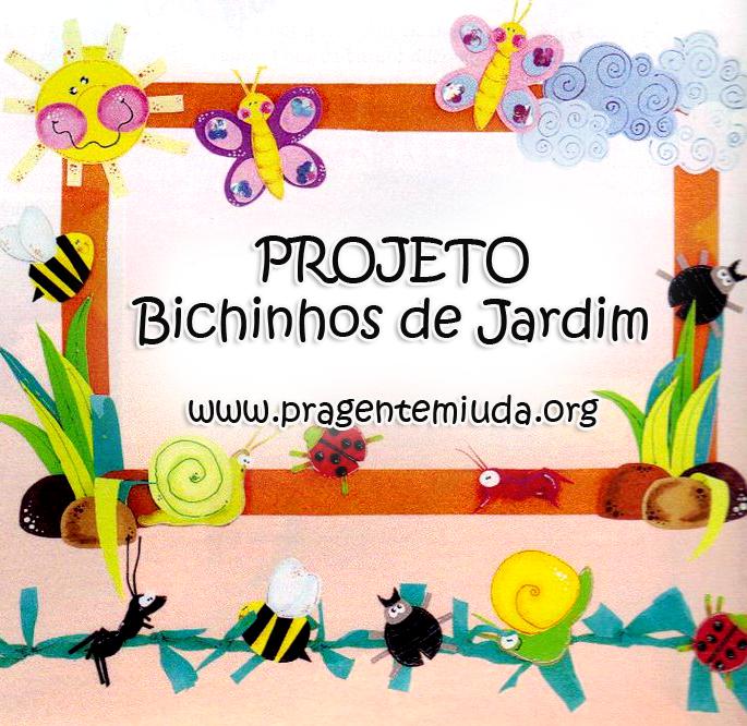 Conhecido projeto bichinhos de jardim para primavera | Atividades  RT93