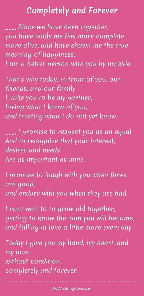 Pin By Lauren Weds Wedding Officiant On Love Wedding Vows To Husband Marriage Vows Wedding Vows