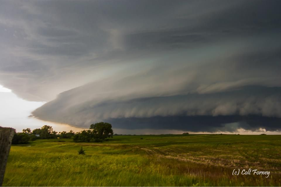 June 17 2009 Marysville Ks Got On The Early Storm In Ks And